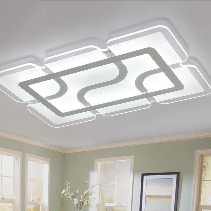 Shixinmao moderne plafoniere a led per soggiorno camera da for Plafoniere moderne
