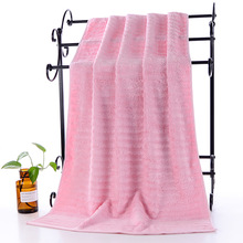 5 Color Solid Bath Towel Microfiber Bamboo Hotel Beauty salon Strong Water Absorption Soft Bathroom Towels 140x70 cm