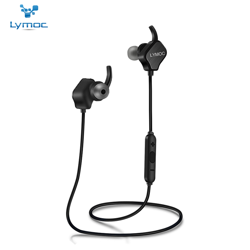 LYMOC Sport Earphones Bluetooth Headsets Wireless Running Gym Stereo Magnetic 7-10Hours CSR4.1 MIC Handsfree for iPhone Samsung remax bluetooth v4 1 wireless stereo foldable handsfree music earphone for iphone 7 8 samsung galaxy rb 200hb