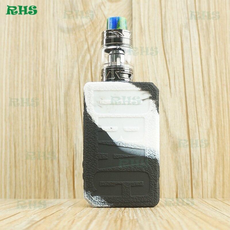 20 stuks RHS Fabriek Snelle Verzending 177 W VOOPOO Slepen 2 Silicone Case Cover Skin met 8 Klassieke Kleuren voor uw Keuze-in Opslag Flessen & Potten van Huis & Tuin op  Groep 1