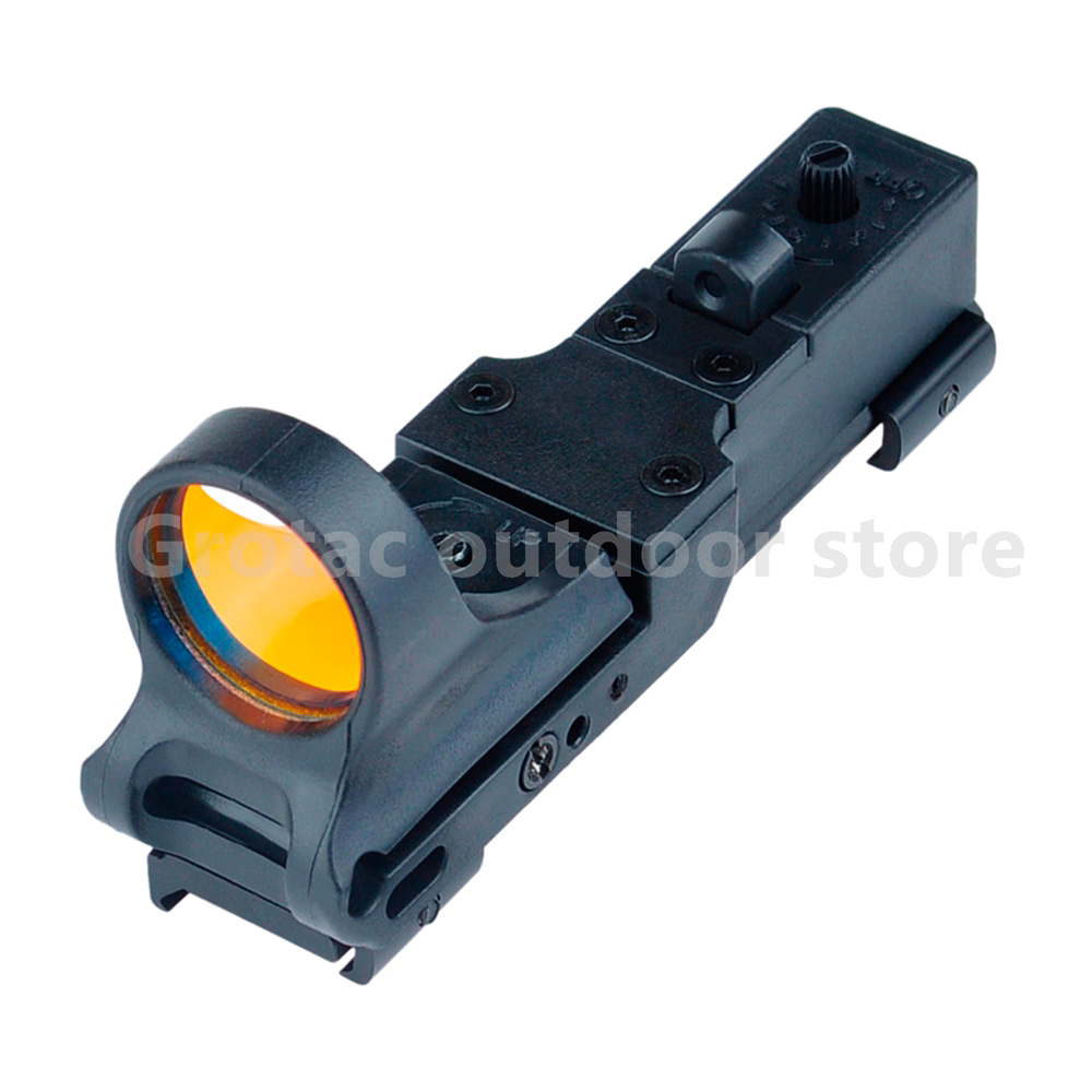 Element Airsoft Hunting Collimator Sight Railway Reflex C-MORE Adjustable Tactical Hunting Red Dot Sight
