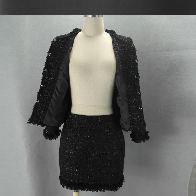 Suit Damen 2 Custom 2019 St DamenDamen R cke Schwarze Tweedjacke Advanced vmOn0N8w