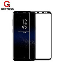 GerTong 3D Curved Full Coverage Tempered Glass For Samsung Galaxy Note 8 S8 S8 Plus S7 Edge S6 Edge Plus Screen Protector Film