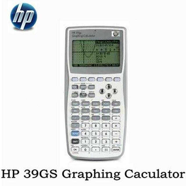 HP 4pcs Handheld Calculator 99 New 39gs Student's Scientific Line Display Portable Multifunctional Calculator Original Graphics