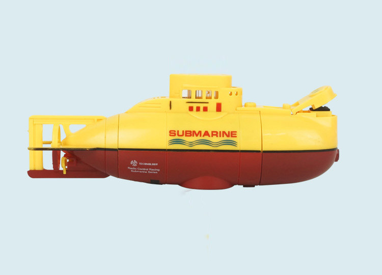 1 Pcs RC Submarine 3311 Sea Wing Star 27MHz Radio Baby Toys Control Submarine Tourism Boat Toy Boys Outdoor Playing Toy