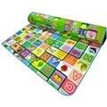 Bebê esteira do jogo do bebê tapete tapete tapete tapete de dança crianças Playmat crianças jogos educativos para crianças cobertor WJ114