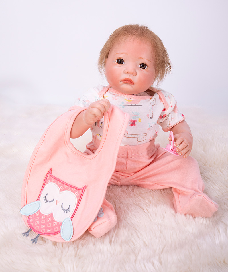 Pretty Alice girl doll reborn 50cm soft cloth body silicone newborn dolls best children bebe gift dolls bonecas meninaPretty Alice girl doll reborn 50cm soft cloth body silicone newborn dolls best children bebe gift dolls bonecas menina