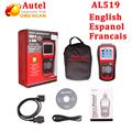 Original Autel AutoLink AL519 OBD2/ EOBD Car Fault Code Reader Scanner Automotive Diagnostic Scan Tool Escaner  Automotive tool