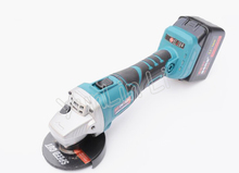 Angle Grinder Handheld Polisher Electric Multi-function Cutting Machine Wood Metal Cutter Grinding Machine Rechargeable 128TV1
