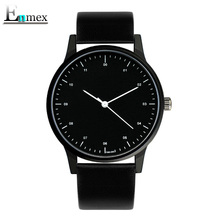 2017gift Enmex cool style wristwatch Brief vogue simple stylish with Black and white face brief casual quartz fashion watch