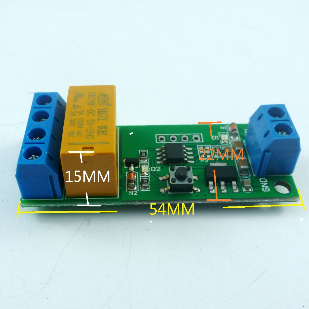 Dc 5v 6v 9v 12v Motor Reversible Controller Time Adjustable Delay Timer Relay Switch Circuit 2a Drive Current 5000s 01setp In Integrated Circuits From Electronic