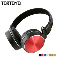 Portable Foldable Crack 3 5mm Wired Phone Headphone Over Ear Earphone With Microphone Headset For Smart