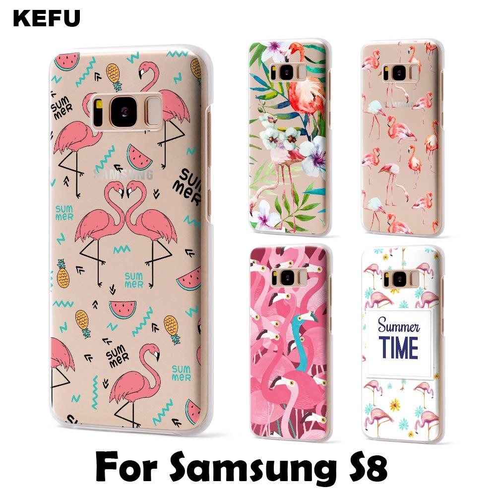 For 2017 new coque Samsung Galaxy S8 case Flamingo Soft TPU for Samsung Galaxy S8 Plus for Samsung Galaxy S7 S7 Edge S8 case