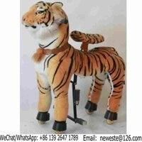 70pcs Large Size Amusement Park Kids Mechanical Animal Tiger Kiddie Rides For Sale