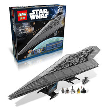 LEPIN 05028 3208Pcs Star Wars Execytor Super Star Destroyer Model Building Kit Minifigure Block Bricks Compatible Toy Gift 10221