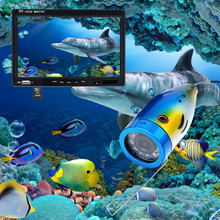 20/30M Professional Fish Finder Underwater Fishing Video Camera 7″ Color Monitor 1000TVL HD CMOS Sensor 12 LED Infrared lights