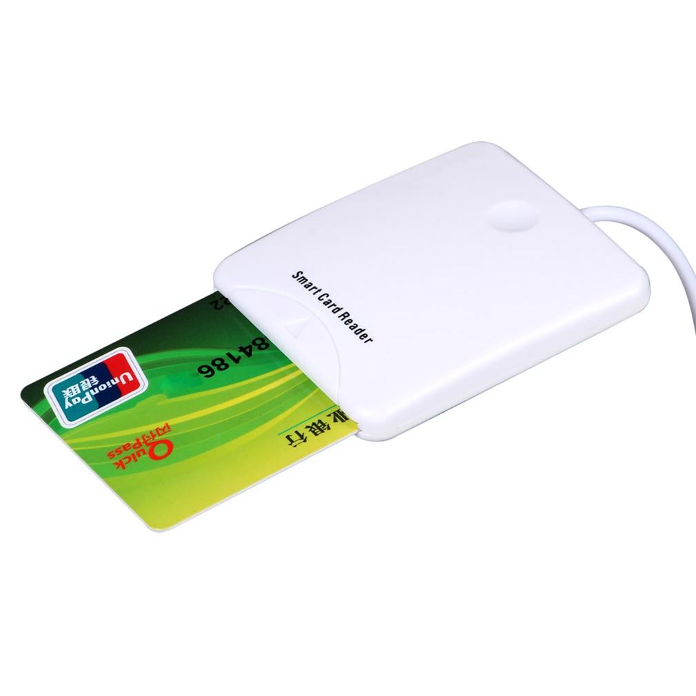 Credit Card Reader USB Smart Chip Mini Portable Magnetic Stripe MSR Swipe Smart