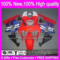 Fairing For HONDA CBR919RR 98 99 CBR900RR Blue red 98 99 35B8 CBR 919RR CBR 919 RR CBR919 RR 1998 1999 +decal Blue red black