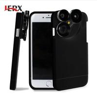 4 In 1 Phone Case Camera Lens Kit Multifunction Fish Eye Macro Wide Angle Telephoto Lens
