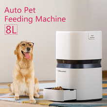 RU Domestic distribution Dog Feeder Automatic USB Charge Capacity 8L Smart Keep Cat Healthy Timer Portion Foods Dispenser