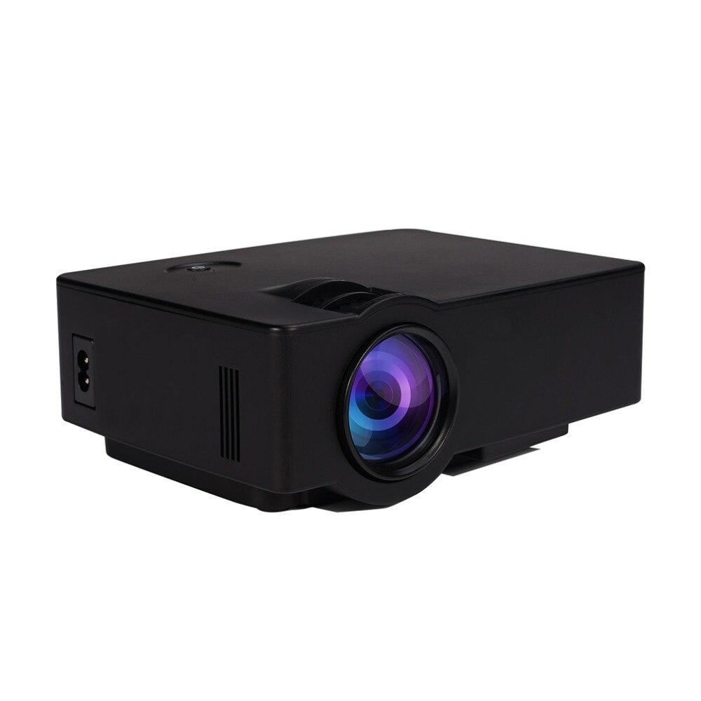 NUEVA 200LM E08 LCD + LED Proyector Portátil 800x480 Píxeles HDMI Reproductor Mu
