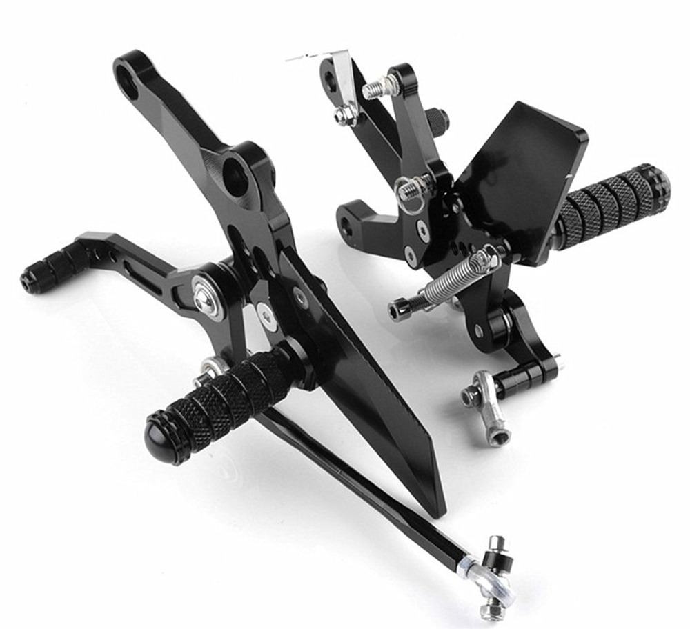 For Kawasaki Ninja 400 2018 Motorcycle Rear Sets Rearset Footrest Foot Rest Pegs cnc aluminum motorcycle adjustable rearset rear set foot pegs pedal footrest for kawasaki ninja 650 ex650 er 6n er 6f 2012 2016
