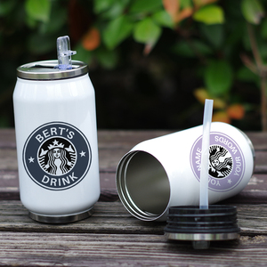 Image 2 - Cool Design Stainless Steel Thermos Insulated Stainless Steel Vacuum Bottle Custom Name Printing Gift