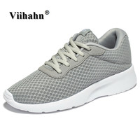 Viihahn Mens Walking Shoes 2017 Spring And Summer Casual Shoes For Men Breathable Mesh Jogging Shoes