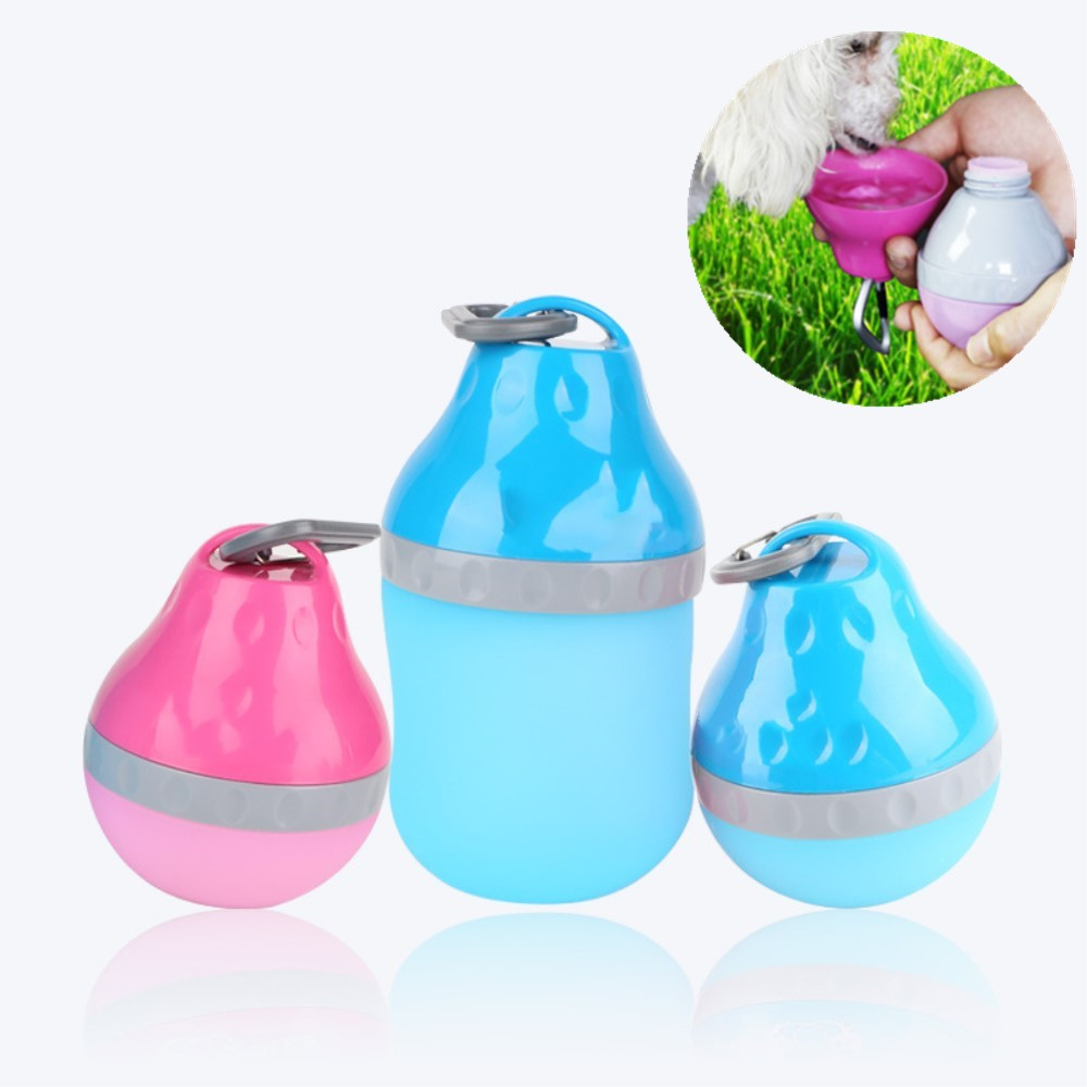 Water Rover Portable Pet Dog Drinking Bowl: 200/400ML Pet Supplies For Portable Outdoor Traveling Dog