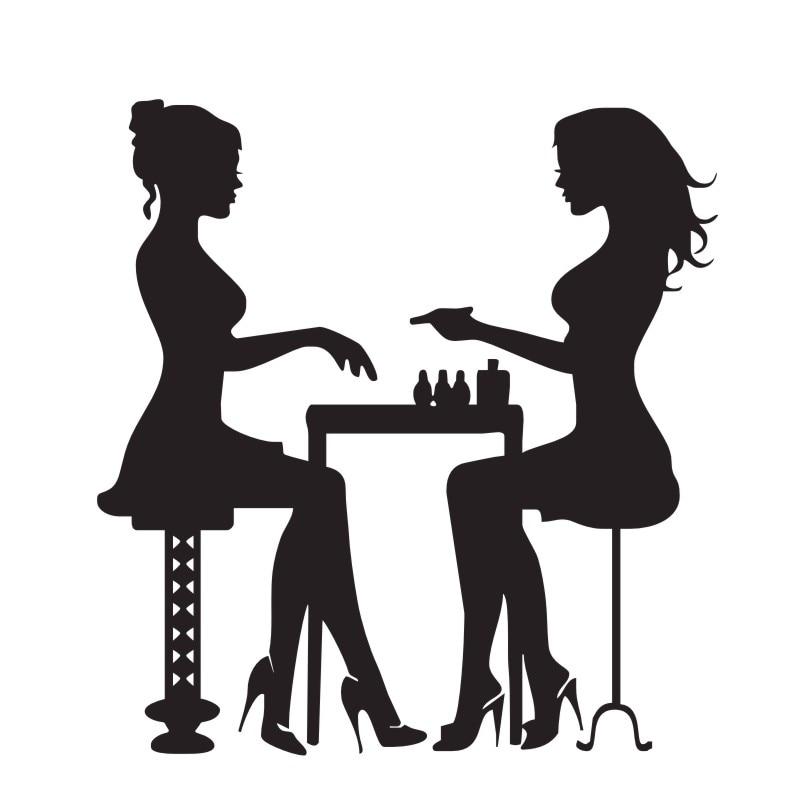 Двије дјевојке у салонима за - Кућни декор - Фотографија 3