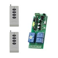 1000W AC85V 110V 220V 250V RF Wireless Light Remote Control Switch Transmitter 4CH Wide Voltage Relay