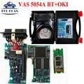 VAS 5054A Bluetooth V19 VAS5054A OKI Chip (полный Чип) Vas5054 VAS 5054 Поддержка Протокола UDS Диагностический Инструмент Многоязычная