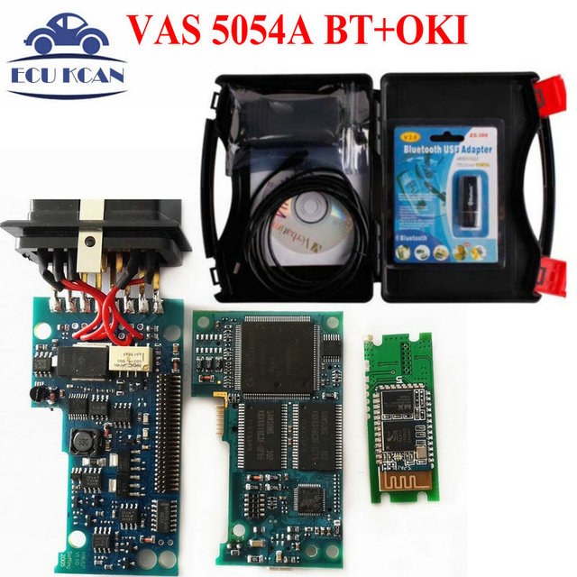 VAS 5054A Bluetooth V19 VAS5054A OKI Chip ( Full Chip ) VAS 5054 Support UDS Protocol Vas5054 Diagnostic Tool Multi Language