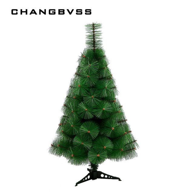 new year christmas tree artificial small pine trees placed on desktop 60cm xmas tree home decor