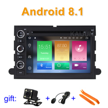 Android 8.1 Car DVD Player Stereo for Ford 500/F150/Explorer/Edge/Expedition/Mustang/fusion/Freestyle Wifi BT Radio GPS
