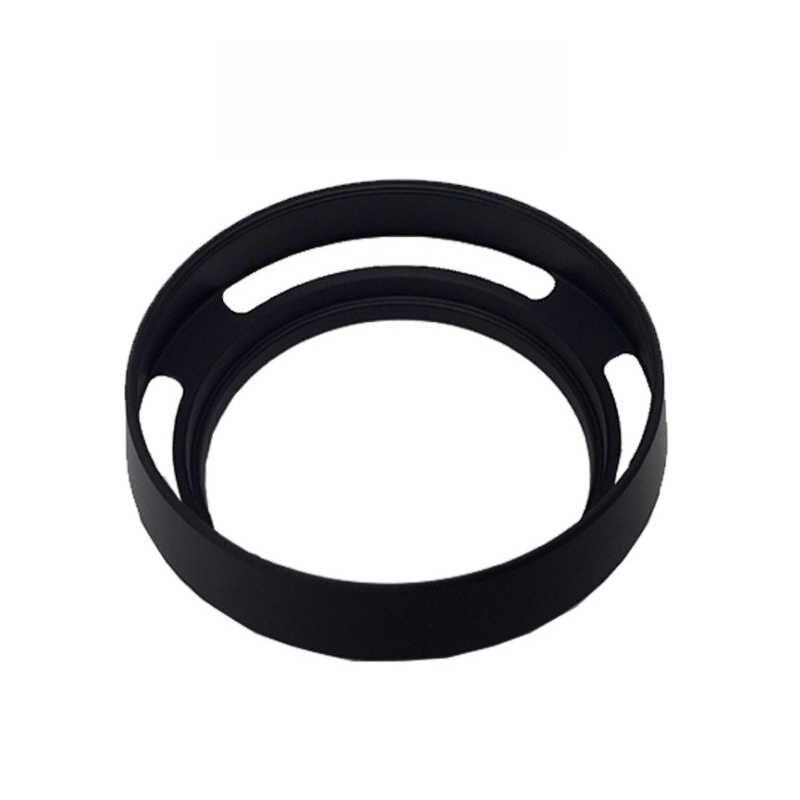 EDMTON שחור מתכת מעוקל פורק עדשת הוד 49 52 55 58 62 67 72 77mm ליקה M Canon ניקון Sony Nex Pentax אולימפוס dslr מצלמה