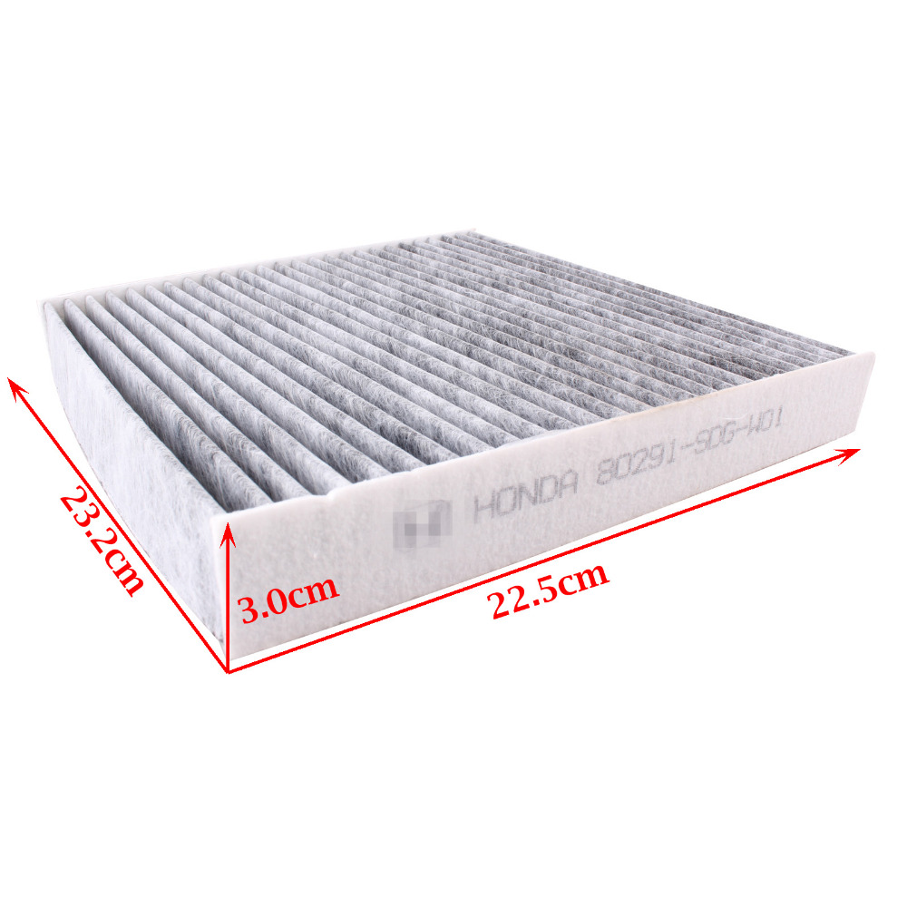 Carbon Cabin Air Filter 80292 SHJ A41/ 80291 SDG W01 For Honda Acura Accord  Pilot TSX Civic CRV Odyssey MDX 2003 2011 CF35519C In Air Intakes From ...