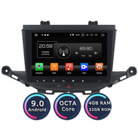 Roadlover Android 9.0 Car Multimedia Player Radio For Opel Astra K 2016 2017 Stereo GPS Navigation Automagnitol 2 Din HD Screen