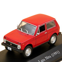 Altaya 1 43 Scale Lada Niva 1600 1991 Car Diecast Models Limited Edition Collection Toys