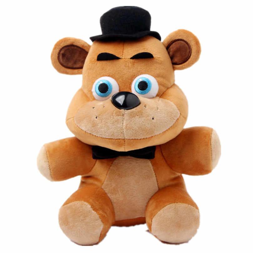 ใหม่ 1 เซ็ต/ล็อต 25 เซนติเมตร 4 สไตล์ตุ๊กตา Bonnie จีน foxy freddy ตุ๊กตาของเล่นตกแต่งบทความของขวัญเด็ก