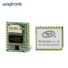 WT2003B02 5V Programing MP3 WAV Audio Module with SD Card Slot Key UART Serial Port Control