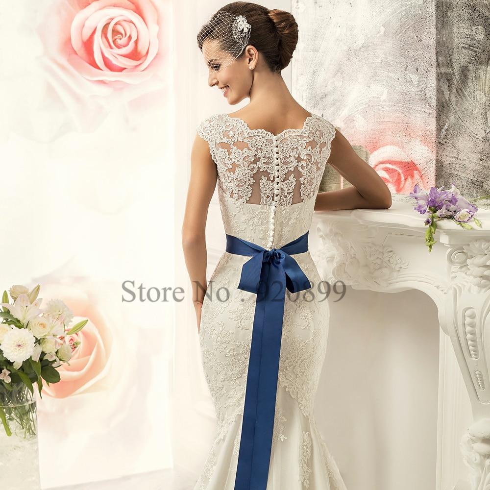 2016 Ivory Vintage Wedding Dress Mermaid