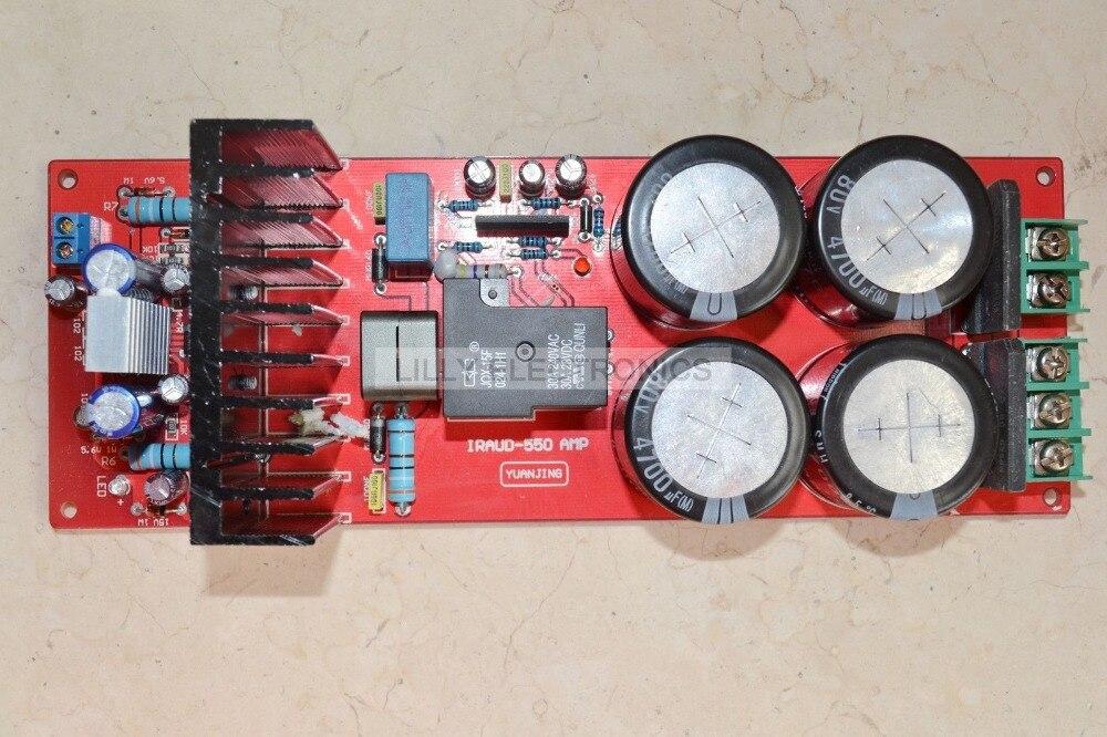 YJ-IRADUD550 IRS2092 Class D Amplifier Board 700W 4ohm/350W 8ohm Speaker Protection 2x 250w tas5613 watt 8 ohm class d audio amplifier board 2x 250w irs2092