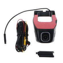 OOTDTY Full HD 1080P WIFI Car DVR Dash Cam Night Vision Camera Decor 170 Degree