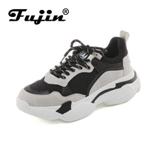 FUJIN Brand Women Casual Sneakers Shoes Spring Autumn Summer Female Lace Up Comfortable for