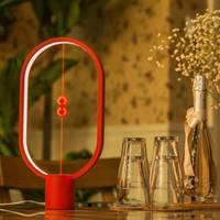 balance lamp Night Lights Ellipse magnetic switch USB powered LED lamp,Warm Eye Care LED Lamp Table Lamp, Decoration