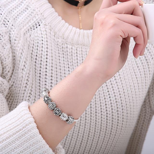 Bracelet Jonc Charms