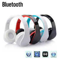 HIFI Wireless Bluetooth Stereo Headphones Folding Noise Reduction Earphone Headset With MIC For IPhone Ipad Tablet