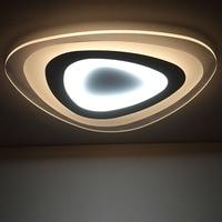 Remote control living room bedroom modern led ceiling lights luminarias para sala dimming led ceiling lamp deckenleuchten