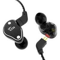 2019 TRN V60 1BA + 2DD Hybrid In Ohr Kopfhörer HIFI DJ Monito Laufende Sport Kopfhörer Ohrstöpsel Headset Mit 2PIN abnehmbare TRN V20